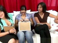 Cfnm girls judging penis
