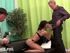 Skinny 1 boy 3 girls fre oma granny porn movies gets deep sodomized