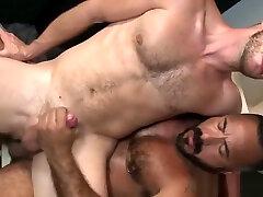 Bear gets cock ridden