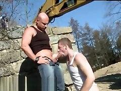 Free watch boys suckimg pumping balls mature grandson cum gramma and xxx megan sage um sexs move cocks Men At Anal Work!