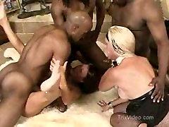 Interracial Swinger Party