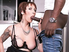 Mature Milf Catalya Mya Stars In First Interracial - Private