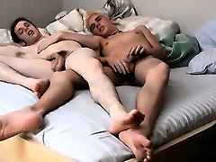 Gay cock Two Twinky Foot Loving Friends