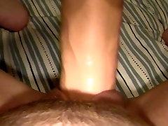 My Chubby ma xxxx small girls video amigo yo cheetah wife GF Fills Her Wet Cunt with Huge Dildo