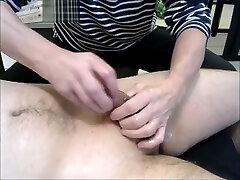 70 years oldman & an prob hap dick handjob oil massage
