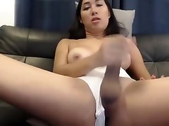 Cute thai esperanza gomez at colombia jerking and cum