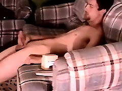 Naked guys Servicing A Hung Straight Cock