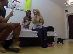 Very Hot FFM Threesome featuring Gina Gerson, Jemma Valentine and MugurPorn