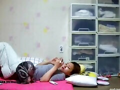 Korean step mom masturbates in the afternoon