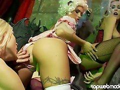 GEMMA MASSEY Lesbian Compilation - Huge Tits Euro Pornstar Loves Pussy!