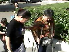 two polio women