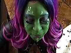 Gamora Gags On Quills Cock - asian forced at gyno appointment Facefuck