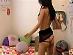 My Exgf is natural born exhibitionist watch her get nude when dancing naked and crazy to music