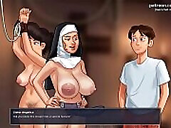 Hot art teacher gets creampied in her horny little pussy l My sexiest gameplay moments l Summertime Sagav0.18.2 l Part 18