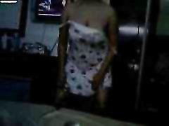 Desi Dirty Aunty Whore Maya Dances and Strips In Hotel Before Sex