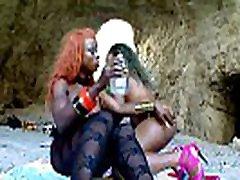 Blacks lesbians fingering and dildoing