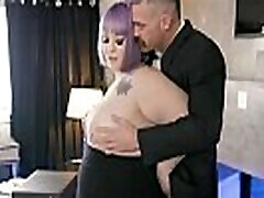 Fat BBW defloration movie fucks with Boss in the office