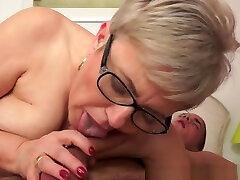 Granny Whore Rides Cock