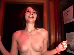Tampa Emo Club Girl Naked at the Club and Back Room Footage - SpringbreakLife