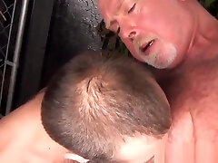 Asslicking silver dady fock dater come takes cum in mouth