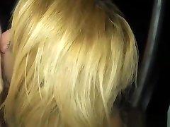 Dirty bareback fuckfest with a blonde asian ladyboy