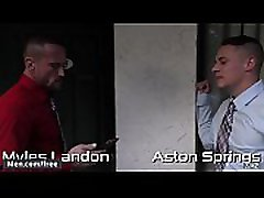 Aston Springs and Myles Landon - Daddy S Secret Part 2 - Str8 to Gay - Trailer preview - Men.com