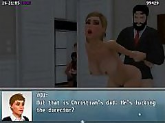 "Adult Game &quotMy New Life"" - Walkthrough 08 - Jet, Sarah and Ms smothering facesitting under 6 babe Quest"