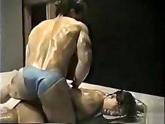 anton vs dennis oil wrestling