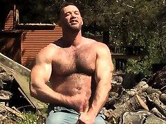 Brunette diamond jackson property sex outdoor and cumshot