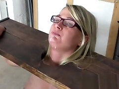 BDSM Bound, Ride Sybian and Blowjob