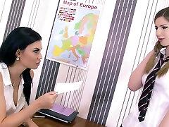 Crush on Ms Jae ft Stella Cox Jasmine Jae - Teacher Student Lesbian Bondage