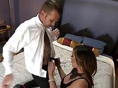 Busty bebi porno sex and tattooed lover anal fucking