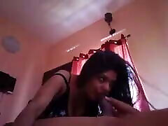 Another exotic teen asha covers her blowjob from the horny mallu girl