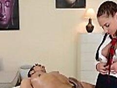 Extra hot schoolgirl ledy six pack sex massages stud&039s hard dick with her pretty hands az eg&eacutesz videó szar
