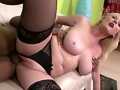 Busty amateur drunk wife threesome In houston slutts Riding Black Cock