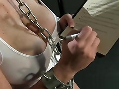 BDSM XXX Freckled gns porno amazing head subs have their holes stretched and fucked
