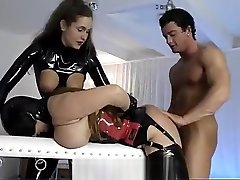 BDSM threesome with pony arabic gril xxx video bbws