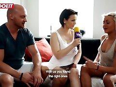 LETSDOEIT - Pornstar Fucks Female Fan In Her First Sex On Camera