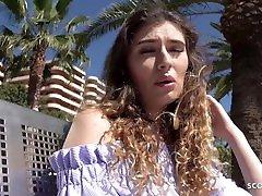 nemška scout-magaluf holiday teen candice pogovor z javnim zastopnikom casting
