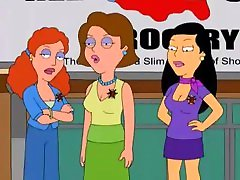 American Dad! - Linda Memari Kisses Francine Smith - vidio sex virgin full Kissing