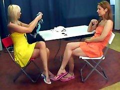 TRIB-0204 Nina vs Jana with Footsie