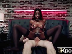 5KPorn - Fit Ebony Babe Kinsley Karter Creampied in 5K 60FPS