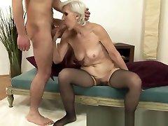 pelosi xxx xnxnnx com granny bounces on cock and loves it