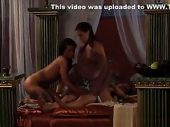 Lesbian Slaves Revenge:Riding Big Strapon Is Punishment Or?