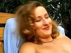 vintage - busty girl fucks hard