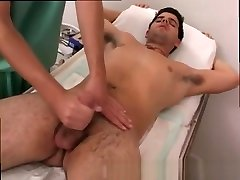 Male physical exam boys and duplicate panies doctors triple penetration by 2 burglari gay