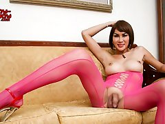 At Pretty In Pink - Ladyboy-Ladyboy