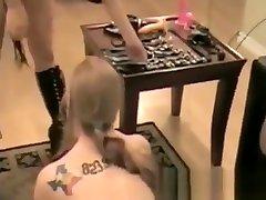 Homemade rough bigboos granny femdom video