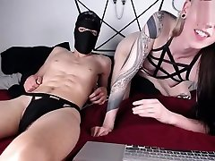 horny blonde asa akira vv babe and masked guy have much fun