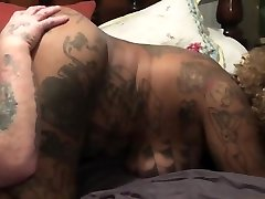 Ebony rob ana kadavu gets pussy spread and bitten then drinks BWC piss